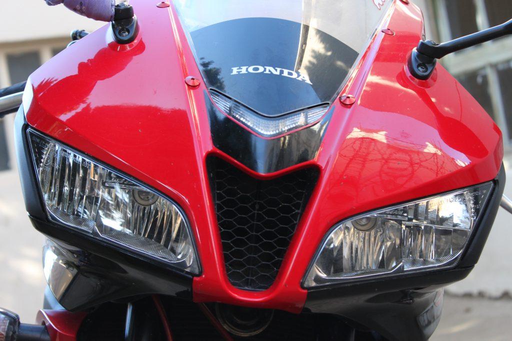 Honda CBR 600RR 2008 TRICOLOR ROJA
